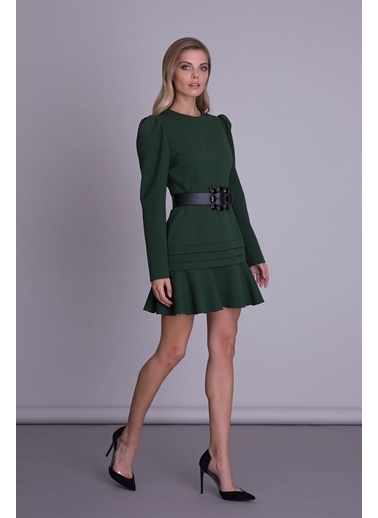 GIZIA Elbise Yeşil